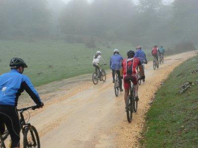 Cycle route through Vía Verde El Ronquillo 3h