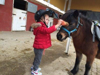 Children's birthday Burgo de Ebro riding center