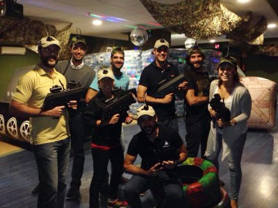 Laser Tag Indoor game in León 30 minutes