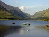 The picturesque Tal y Llyn Lake