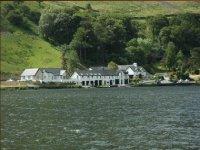 The Gwesty Ty´n y Cornel Hotel, on the banks of Tal y Llyn Lake
