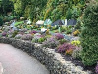 kThe beautiful gardens at Babbacombe Model Village