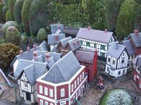 Part of the kept houses at Bekonscot Model Village & Railway