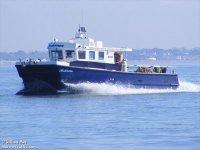 Our catamaran, Anchorman