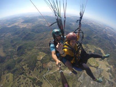 Paragliding flight & photos Sierra de Algodonales