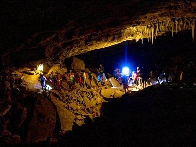 Caving route Cave of La Excéntrica 3h