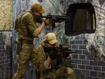 First and Only Airsoft Bunker Wood