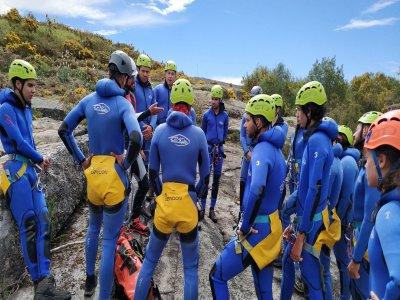 Initiation canyoning on the Santa Baia river 4h
