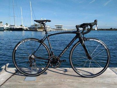 Carbon fibre bike rental 3 days in Benidorm