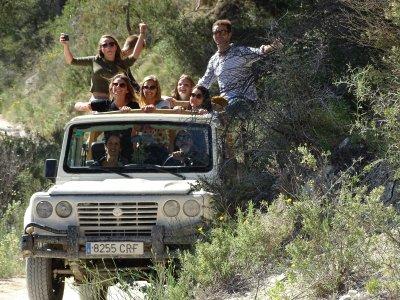 Private 4x4 route through Sierra Aitana 4 hours