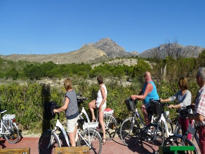 Guided eBike route through Villajoyosa 4 hours