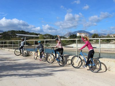 Guided MTB route through Benidorm for 3 hours