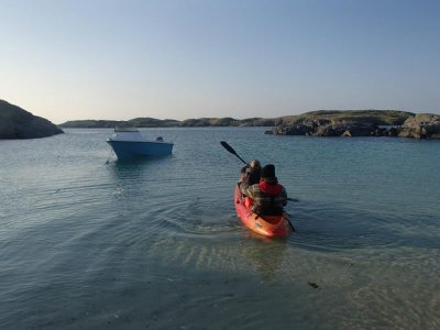 Bike Hebrides Kayaking