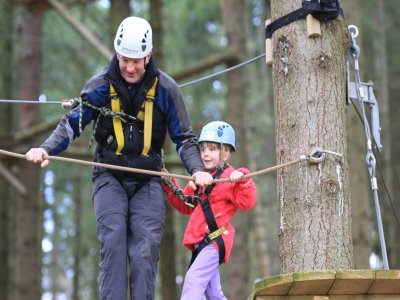 Mill Rythe Adventure Centre High Ropes