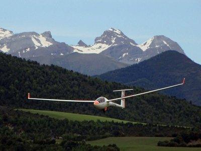 Flight Baptism in Santa Cilia Glider 30 min
