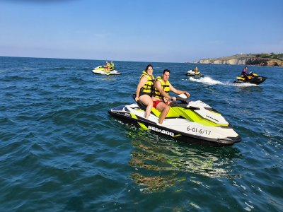 Buggy and jet ski route with Spa Gijón