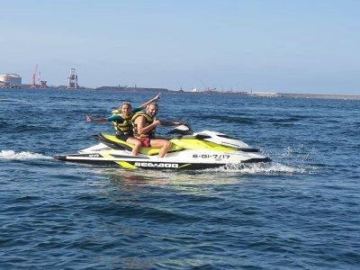 Jet ski and spa pack in Villaviciosa