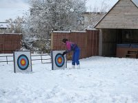 Winter archery