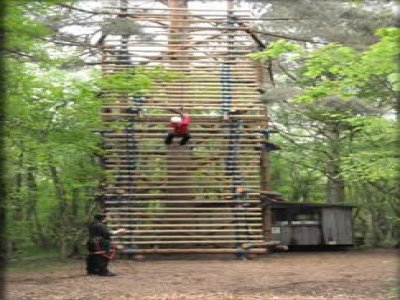 High Ropes Adventure Canopy