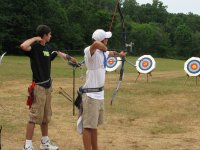 Archery for kids at Open Door Adventure