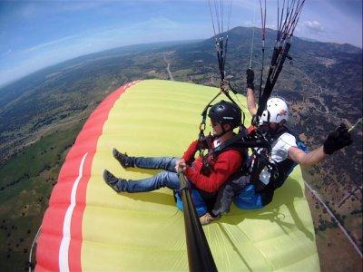 Paramotor flight Pedro Bernardo with video 15 min