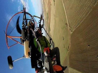 Paramotor flight Cebreros 30 minutes