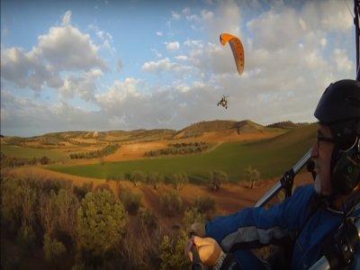 Paramotor flight with video Cebreros 30 minutes