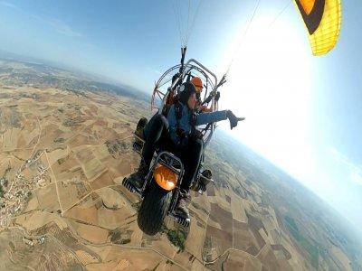 Paramotor flight over Cebreros 1 hour