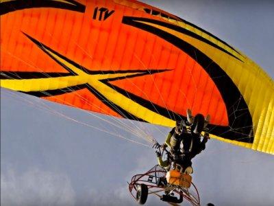 Paramotor flight in Alarilla for 1 hour