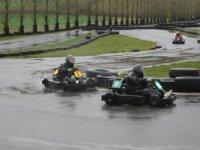 Karting on rainy days