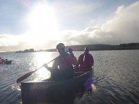 Canoeing with Open Door Adventure!