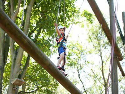 Hilltop Outdoor Centre High Ropes