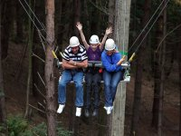 The swing at Hilltop Outdoor Centre!
