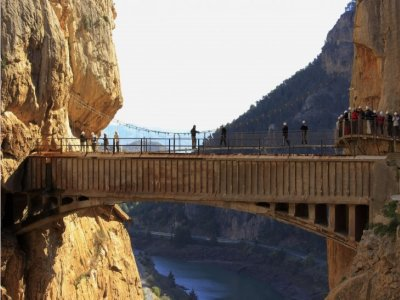 Hiking in the Caminito del Rey and lunch 5h