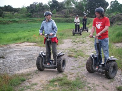 Segway route from Berga 1 hour