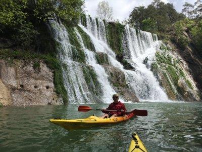 Canoeing route Baells reservoir 2 hours
