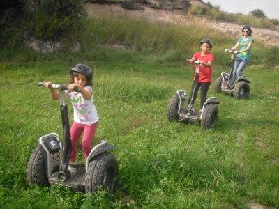 Raid adventure in Bergadá and group orienteering