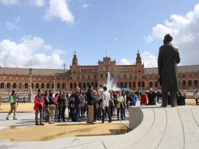 Tour of Maria Luisa Park for children in Sevilla