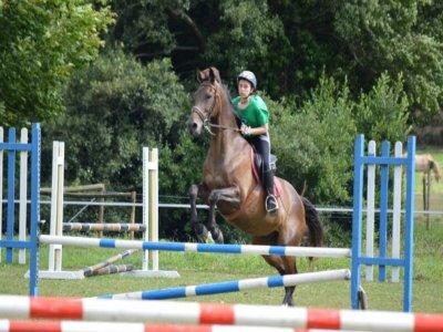 Voucher individual riding lessons Ortigueira 5h