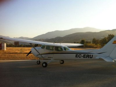 Light aircraft flight in Jerez for two 20 minutes