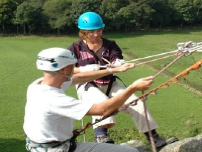 Key Adventures Outdoor Activities and Team Building Abseiling