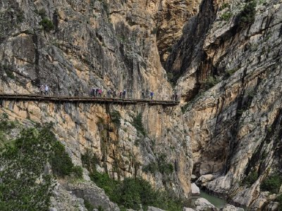 Guided visit to Caminito del Rey from Seville