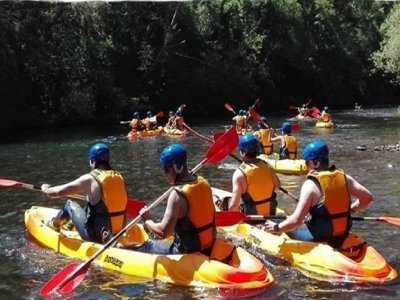 Canoeing down the Bierzo 2 and a half hours