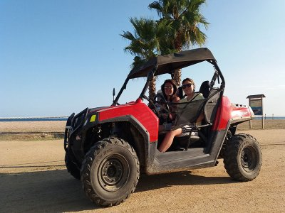 Buggy tour for couples in Maresme 1h