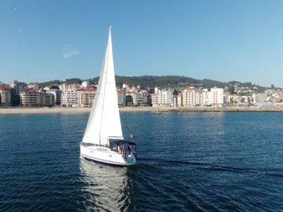 Sailboat ride along the Pontevedra estuary 4 hours