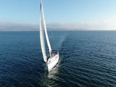 Sailing route along the Galician estuaries 1 day