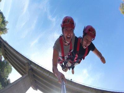Bungee jumping tandem Montserrat offer at 8AM