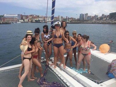 Multi-adventure bachelor party in Gijón