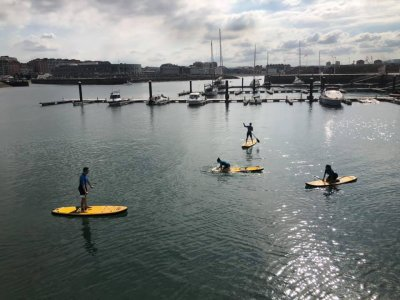 Gijón paddle surf and spa bachelorette party