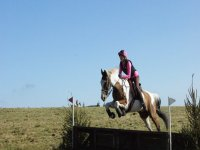 Showjumping in West Somerset Riding Club.